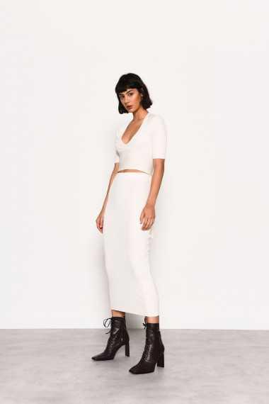 Knit Midi Co-ord Skirt