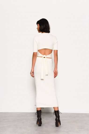 Co-ord Jumper with Tie Back Detail