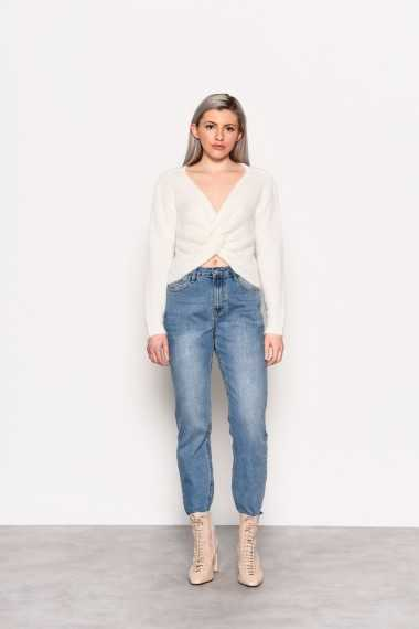 Crop Top With Knot Detail