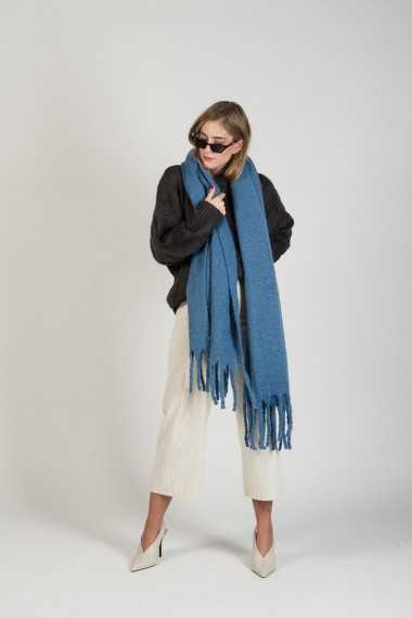 Long scarf - Blue