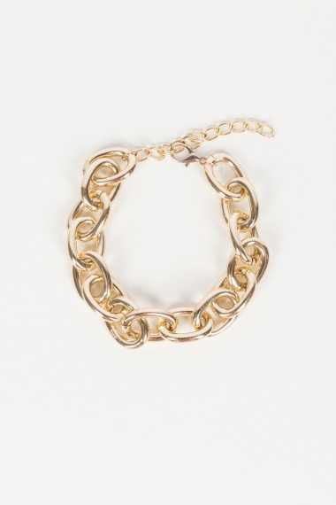 Metal Chain Necklace - Gold