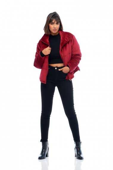 Mojo Plush Puffer Jacket