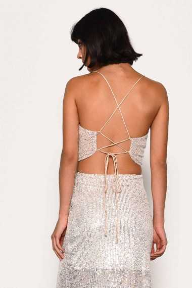 Crop with Skinny Straps