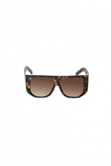 Visor sunglasses in Tortoiseshell