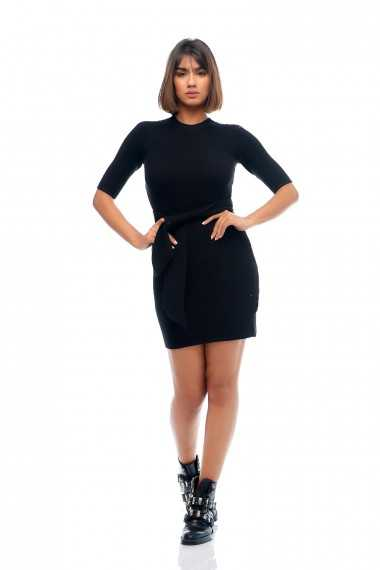 Emma Mini Dress (Black)