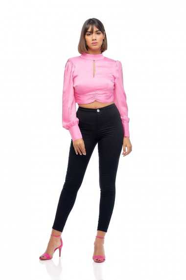 Top en Satin Scarlette