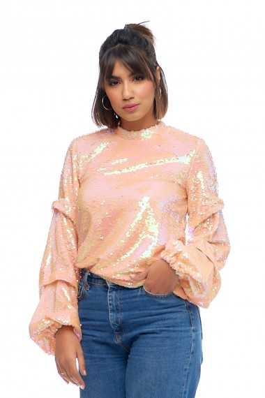 Fiona Sequin Top