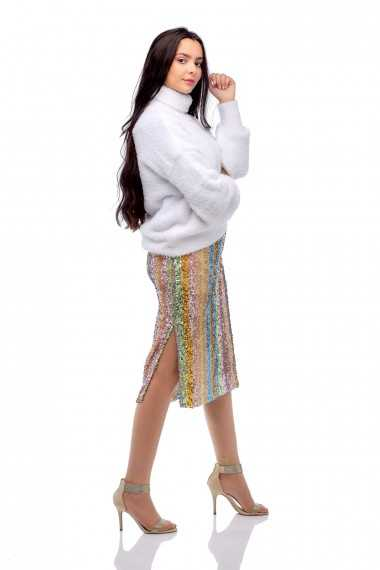 Dolly Sequin Pencil Skirt