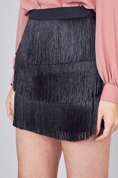 Nettie Fringe Skirt