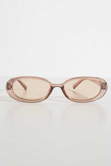 Penny Retro Sunglasses (Brown)