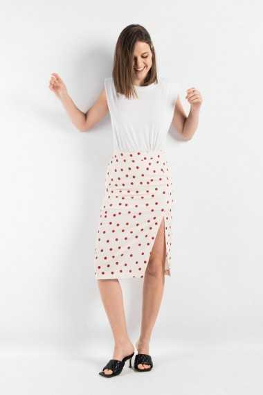 Simone Polka Dot Skirt