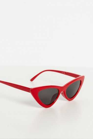 Preston Retro Sunglasses (Red)