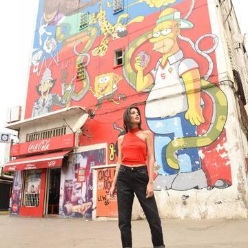 A shade of red for every trendigirl 🚨 #trendivor #trendigirls #trends #fashion #red #streetart #fun #inspiration